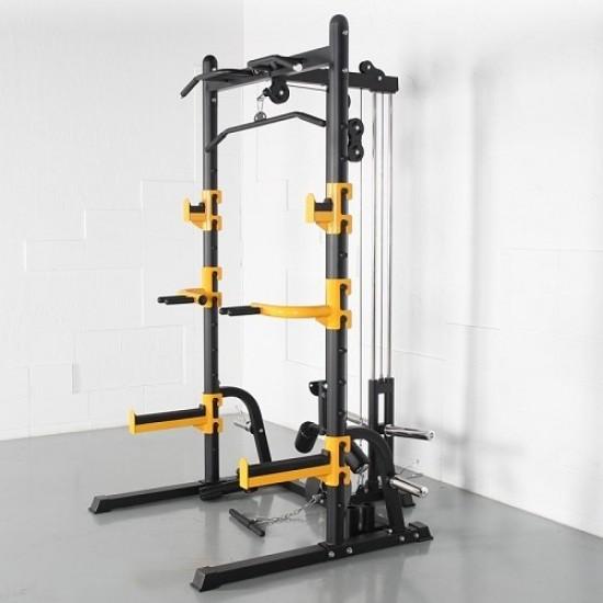 Мултифункционална  стойка за клек Active Gym на марката Active Gym от вносител на полупрофесионални и професионални фитнес уреди и аксесоари PulseGymShop.bg