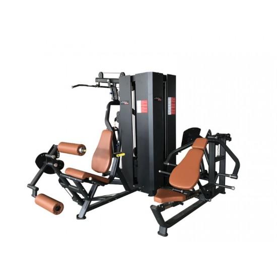 Комбинирана станция Dual 4 Active Gym на марката Active Gym от вносител на полупрофесионални и професионални фитнес уреди и аксесоари PulseGymShop.bg