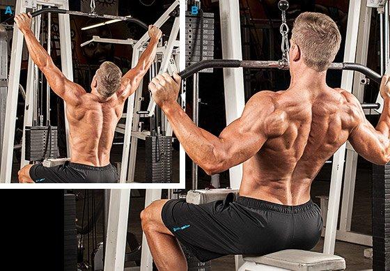 За ефективна тренировка за гръб трябва да тренирате всички мускули в тази област, не само широките.