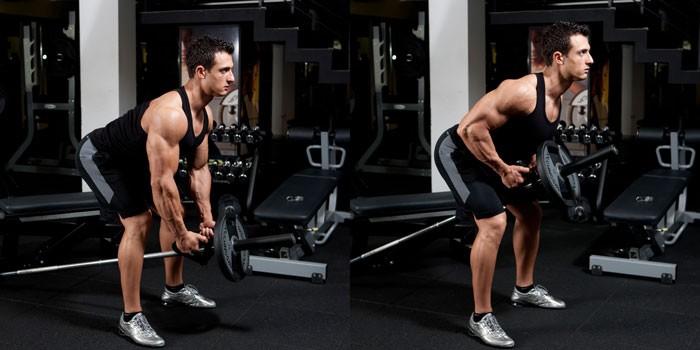 За добре оформен гръб трябва да правите тренировки за средната му част.