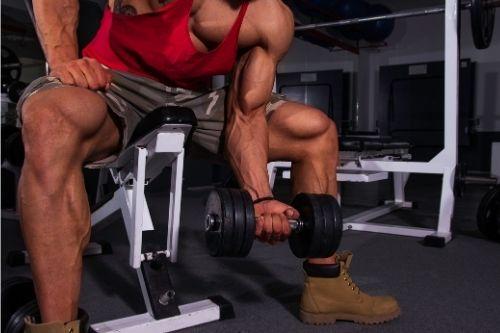 Упражнения за тренировка за бицепс - изолирани тренировки за отделни мускулни групи.
