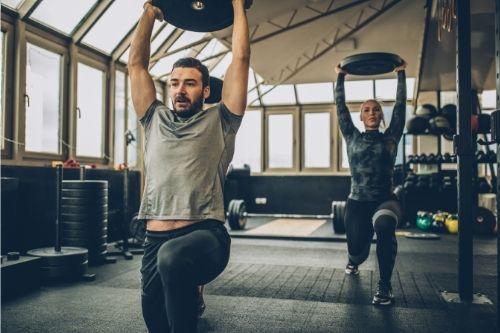 Дисковете за фитнес са подходящи за тренировка за крака, преса, ръце.