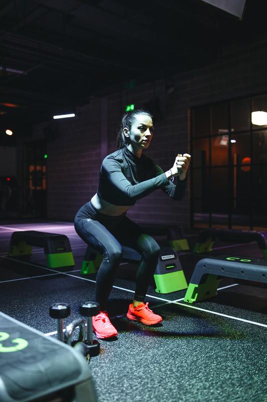 Загрявка за проработване на базовите фитнес упражнения.