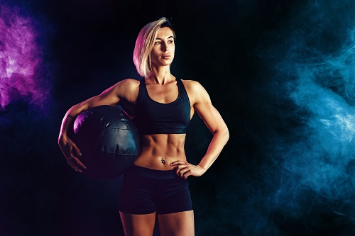 Упражнения за стимулиране на централната нервна система с топка, пляскане, хръвляне.