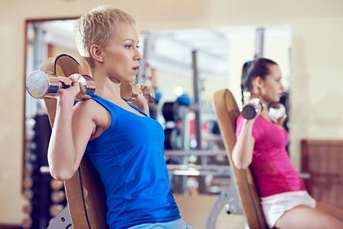 Комплекс от силови упражнения за жени за начинаещи, напреднали, за отслабване и за по време на менструация.