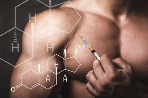 За силни и големи мускули нивото на тестостерон при мъжете трябва да се повиши.