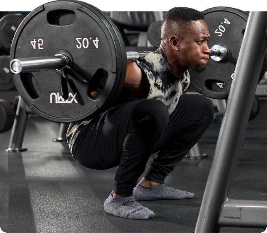 За увеличаване на мускулите трябва да се тренира с по-големи тежести.