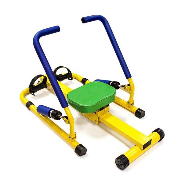 Сред гребните тренажори има и предназначени за деца, които са по-безопасни, по-удобни.