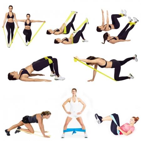 Ленти и ластици за съпротивление са ефективни фитнес аксесоари за различни видове упражнения