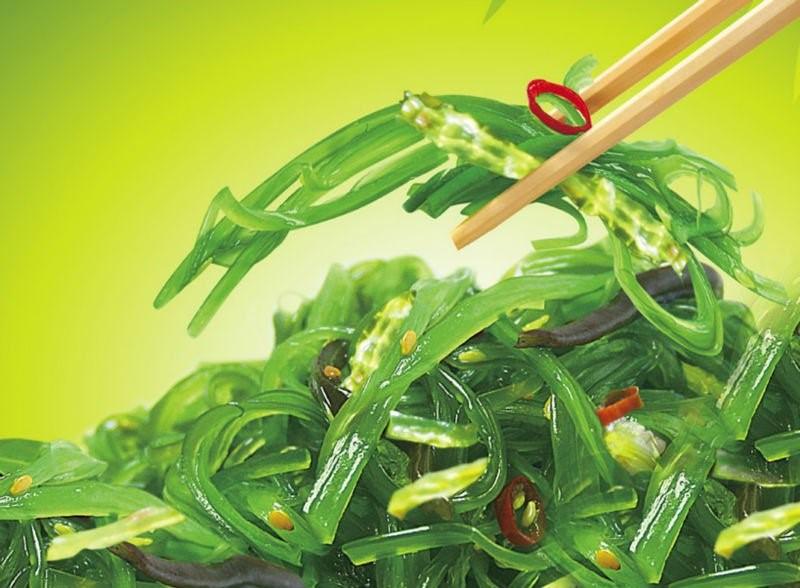 Морски водорасли, извара, пуешко месо, пилешки гърди са продукти с високо съдържание на белтъчини и ниско съдържание на мазнини.