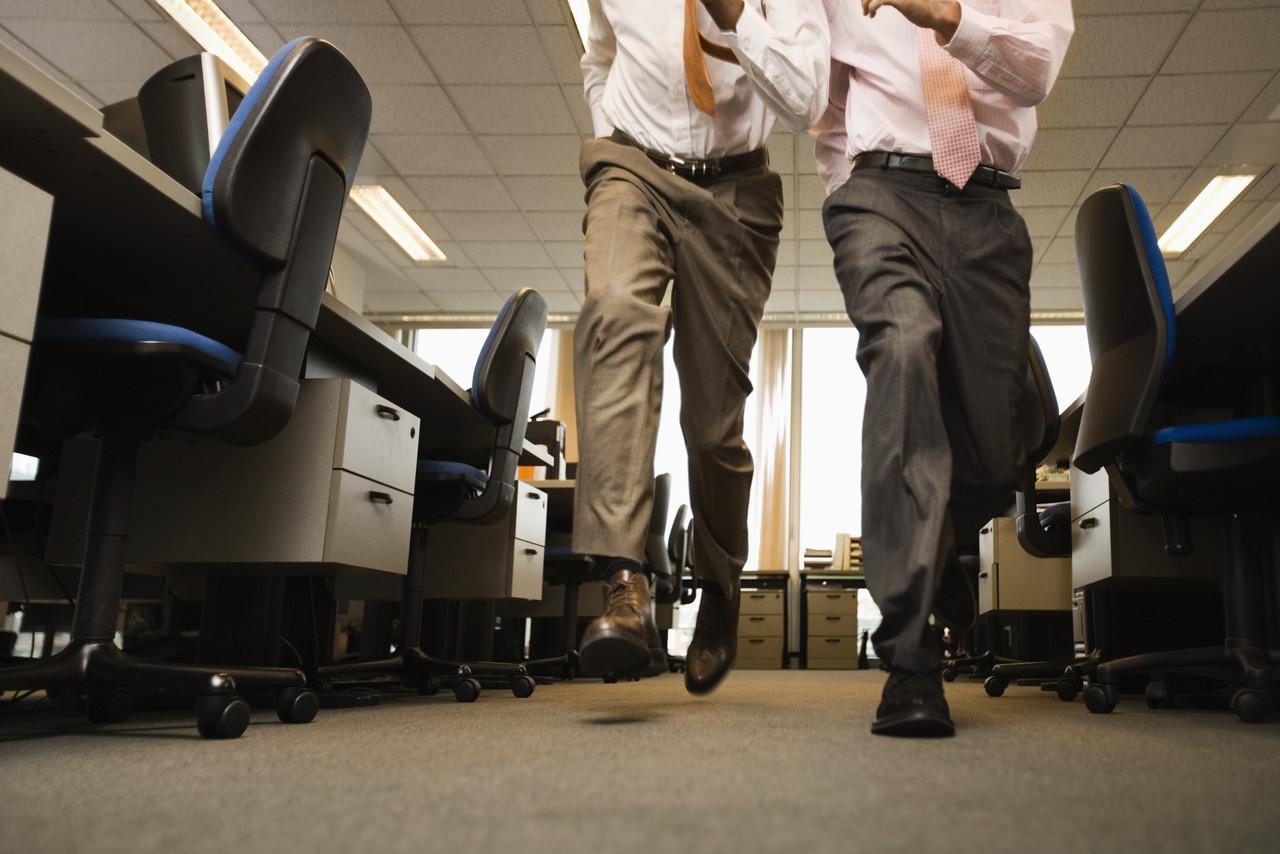Аеробика в офиса - бързо ходене