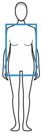Ефективни упражнения за отслабване при хора с фигура правоъгълник.