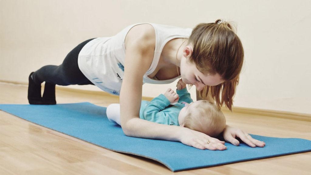 План, пилатес, йога са подходящи упражнения за след раждането.