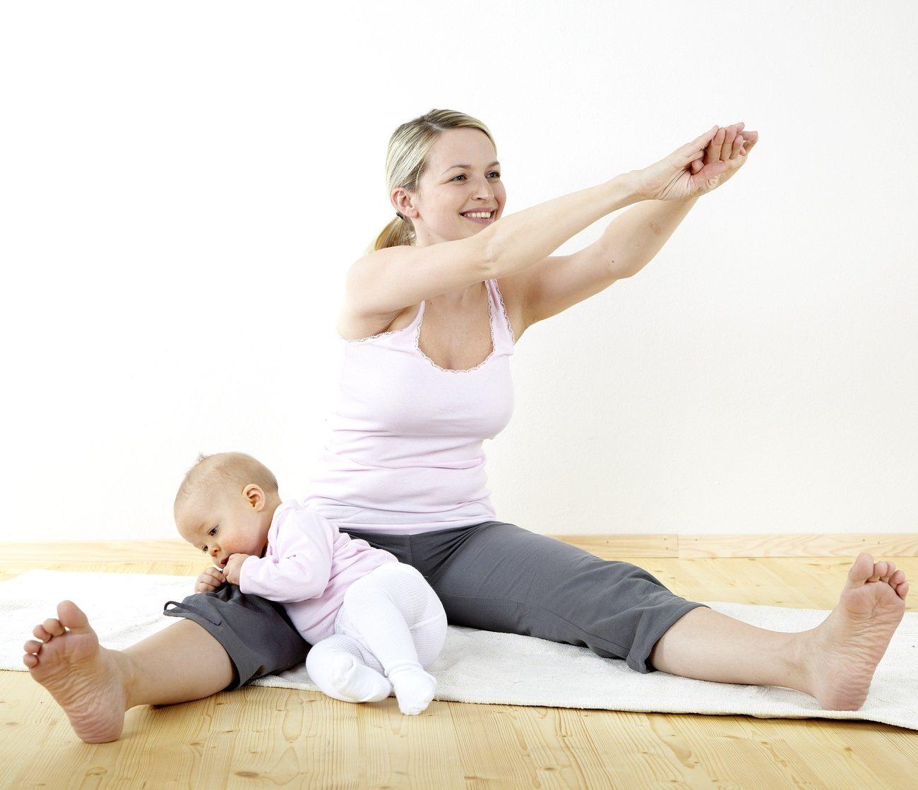 Видове тренировки за възстановяване на формата след раждането.