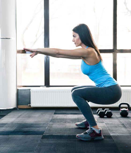 Програма за тренировки с клекове за 30 дни ден по ден - повторения.