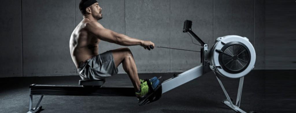 За ефективно горене на мазнини, оформяне на тялото и отслабване е уредът гребен тренажор.