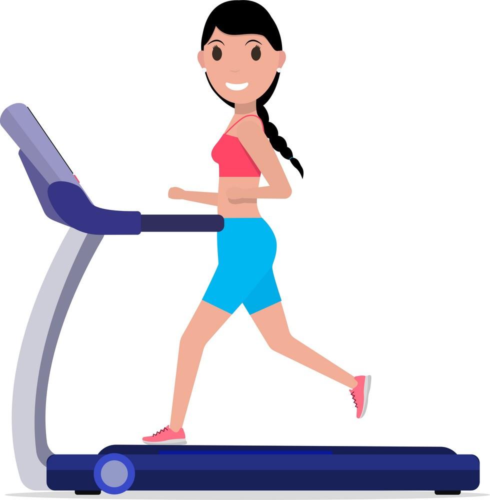Бягаща пътека за горене на мазнини, отслабване, стягане на тялото - ефективен фитнес уред за тренировки.