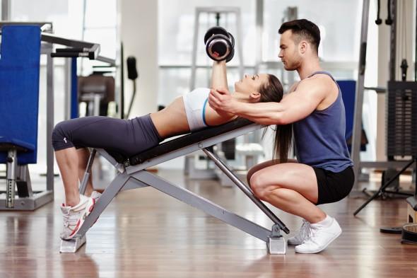 Седмичен план за тренировки във фитнеса за начинаещ.