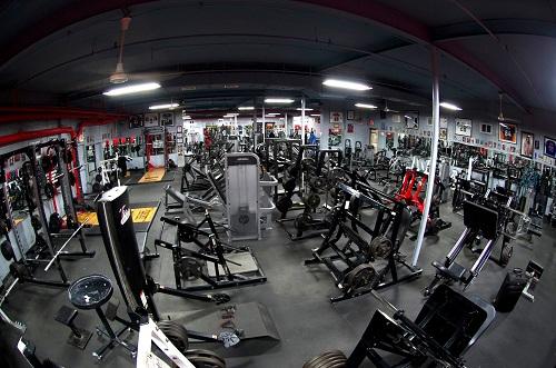 Powerhouse Gym в Съсет, САЩ е меката на бодибилдинга на източното крайбрежие.