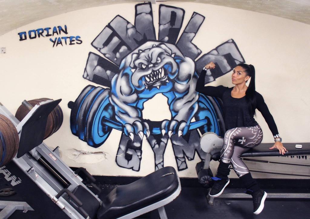 Temple Gym в Бирминган е фитнес клуб, който се посещава от легендата в бодибилдинга Дориан Йейтс.