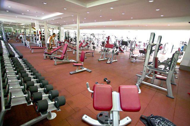 Titan Fitness в Сидни, Австралия, разполага и със стаи за деца.
