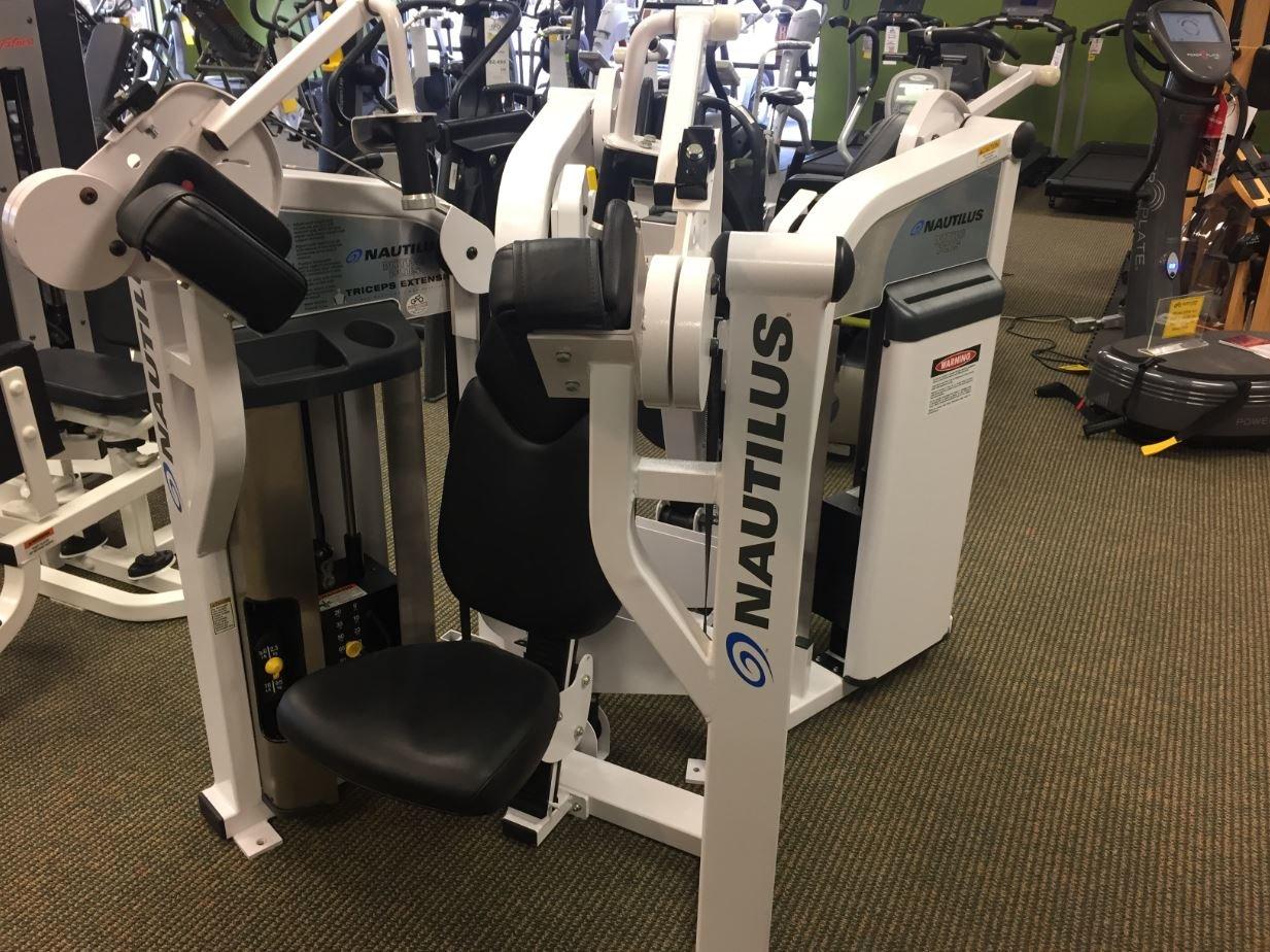 Nautilus предлага бягащи пътеи, елиптични тренажори, велоергометри и уреди за силови тренировки.
