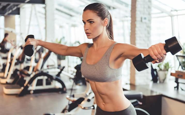 Фитнес програма за жени за поддържане на формата - упражнения за начинаещите.