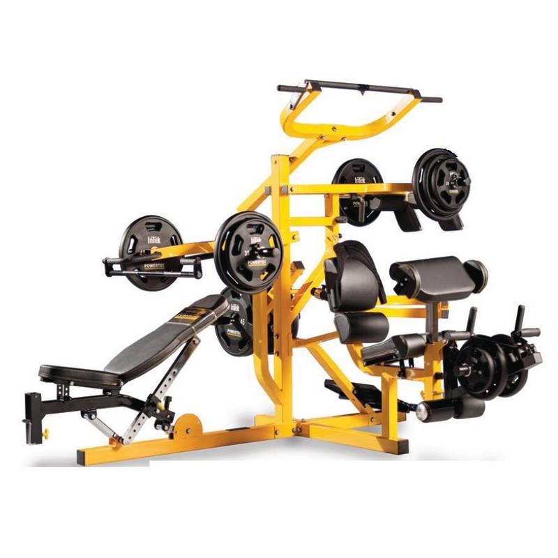 Мултистанциите са комбинирани уредли, на които могат да се правят различни упражнения.