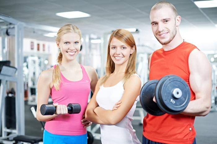 Собствена фитнес зала - целева аудитория - мъже или жени, или смесена фитнес зала.