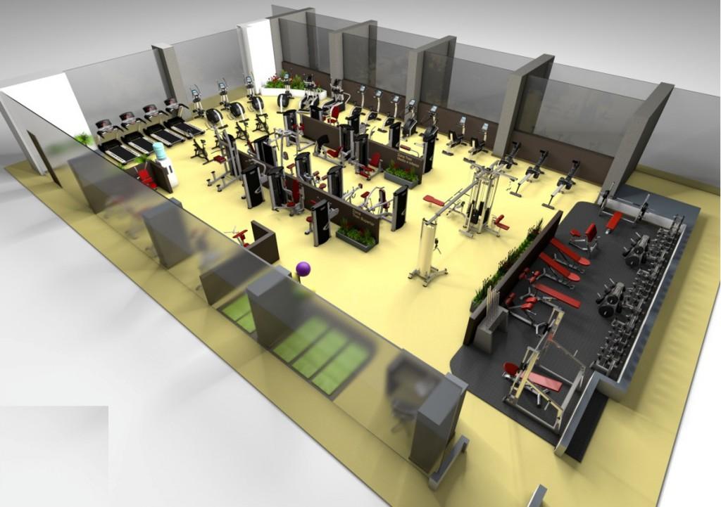 Каква трябва да е оптималната площ на фитнес залата, за да бъде атрактивна за потенциалните клиенти?