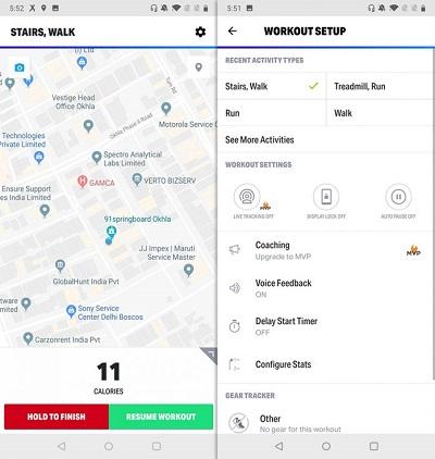 Map My Fitness е приложение, което Ви позволява да споделяте целите и постиженията си във фитнеса с други потребители в социалните мрежи
