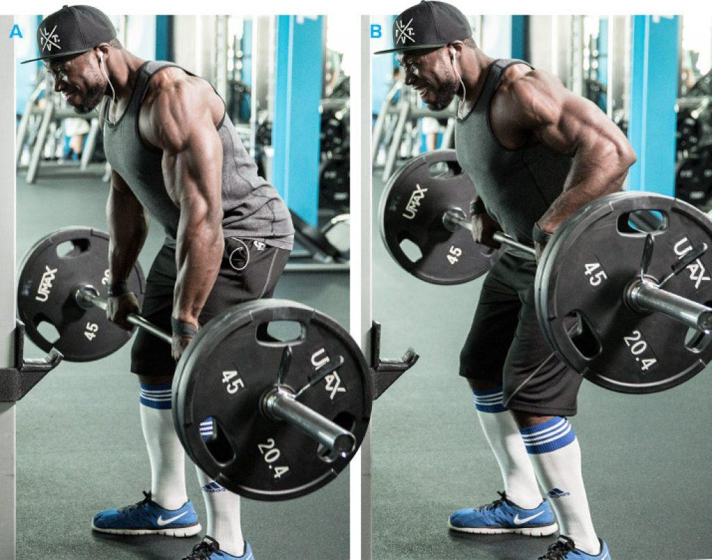 Гребане с щанга - ефективно фитнес упражнение за гръб