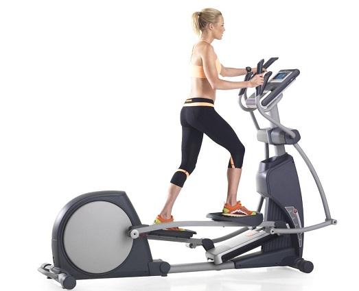 Елиптичният тренажор е професионален или домашен кардио уред.
