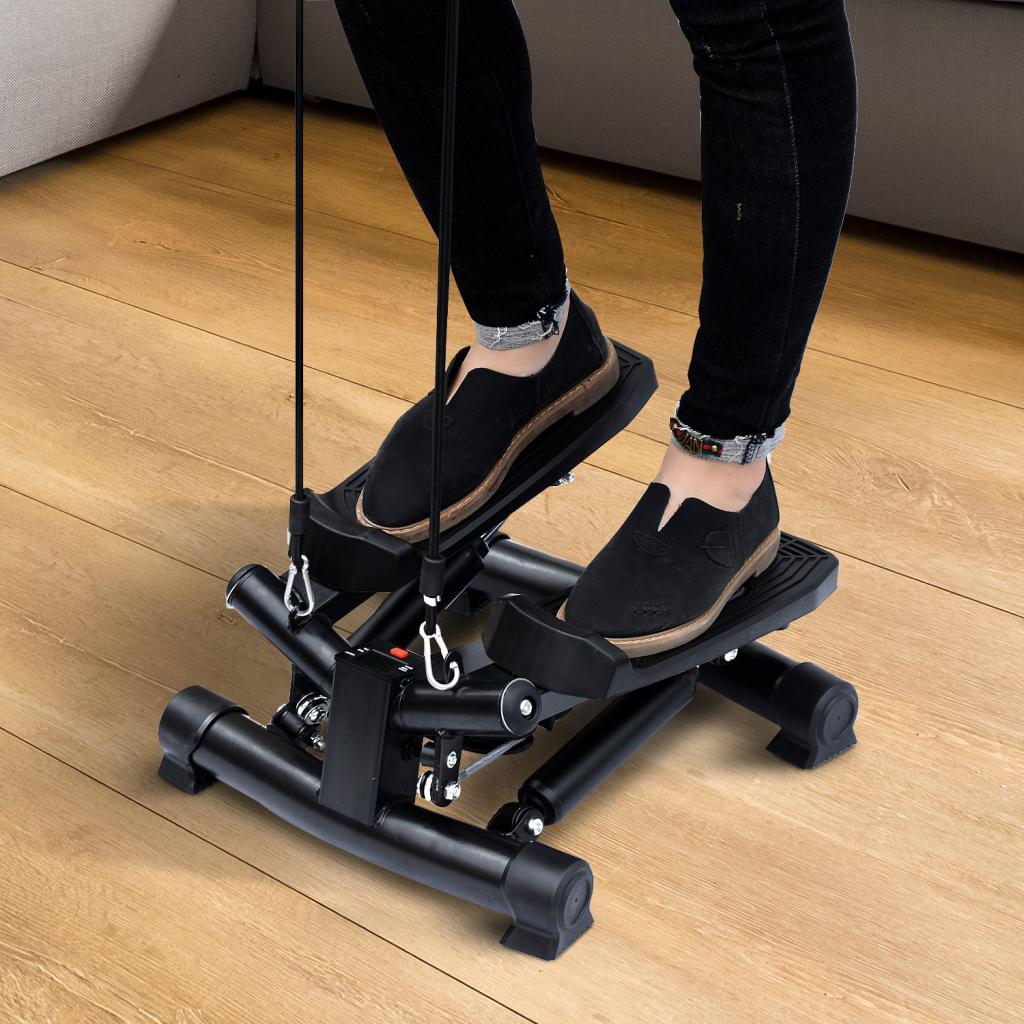 степер с педали - помага за трениране на сърдечно-съдовата система и за отслабване.